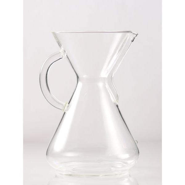 【送料・代引手数料無料】CHEMEX(ケメックス)コーヒーメーカー  ガラスハンドル 10cup