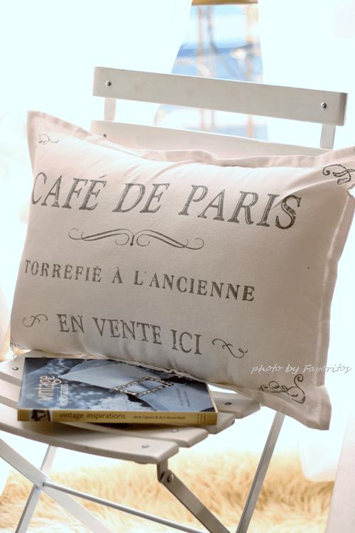 人気!カフェ・ドゥ・パリ・クッション