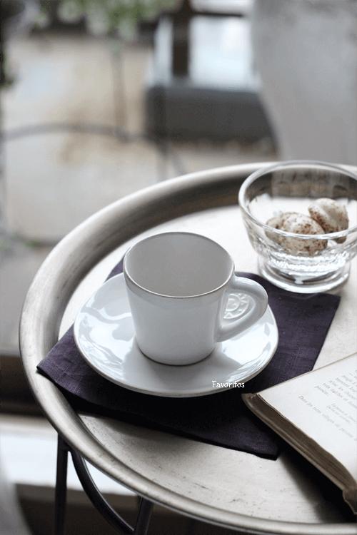 COSTA  NOVA(コスタノバ) |NOVA(ノバ) コーヒーカップ&ソーサー  エスプレッソ用 0.07L(ホワイト/ターコイズ/デニム)