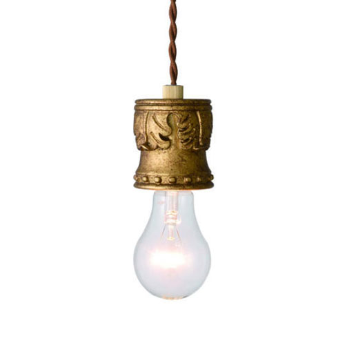 MERCROS DAVID-1BULB-PENDANT-GD