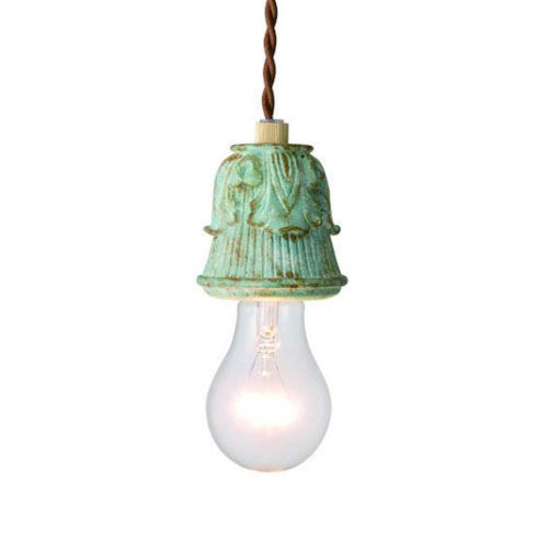 MERCROS DAVID-1BULB-PENDANT-GN