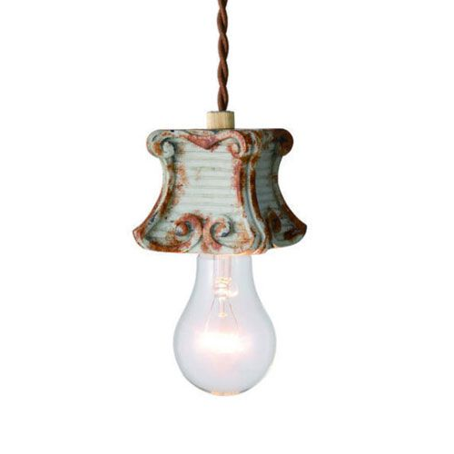 MERCROS DAVID-1BULB-PENDANT-GY