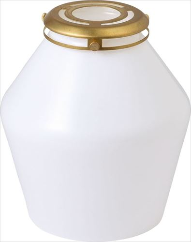MERCROS GENERAL GLASS SHADE 16 WH