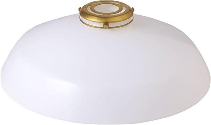 [簡易取付] GENERAL GLASS SHADE 36 WH 002420 メルクロス(MERCROS)製ペンダントライト 【MR01970E】