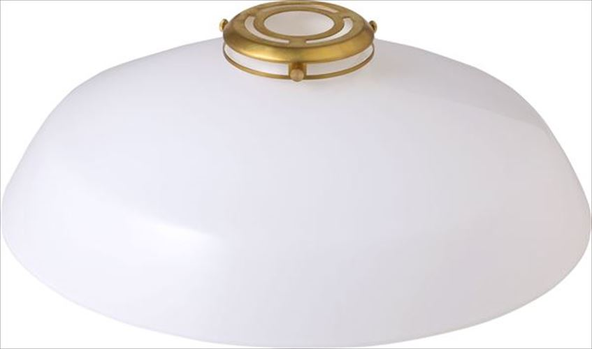 MERCROS GENERAL GLASS SHADE 36 WH