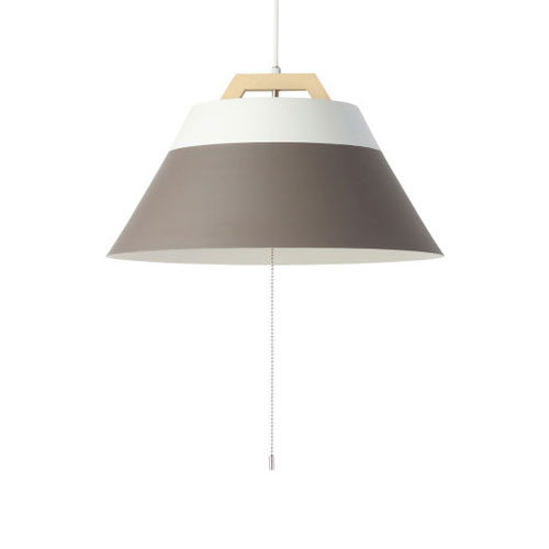 MERCROS LAMP-by-2TONE-3BULB-PENDANT-WH-BR