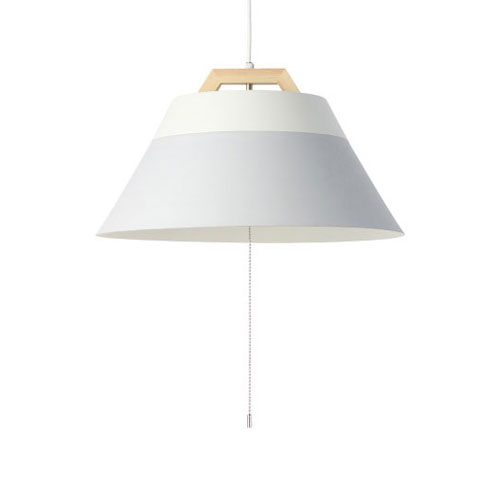 MERCROS LAMP-by-2TONE-3BULB-PENDANT-WH-GY