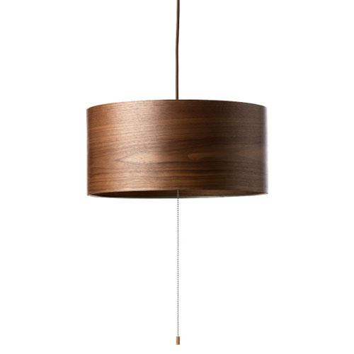 MERCROS WOOD-SHADE-LAMP-3BULB-PENDANT-WN