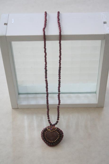 ハートのネックレス