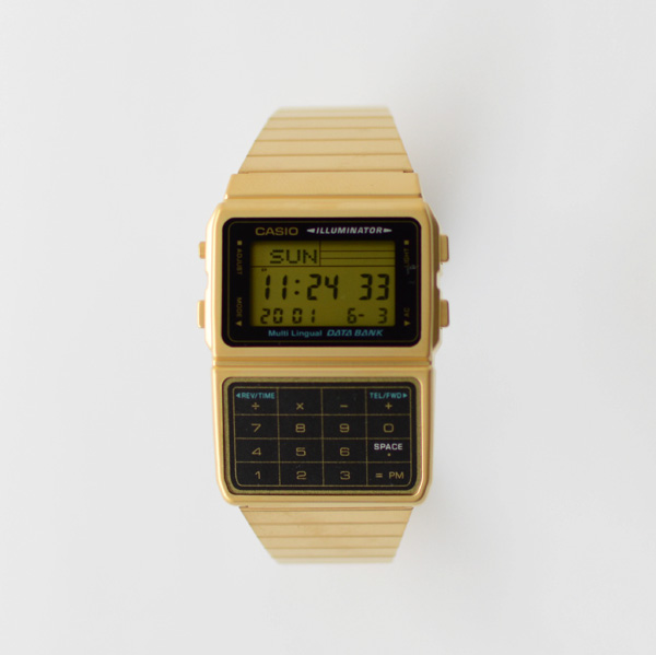 CASIO - Databank - Gold