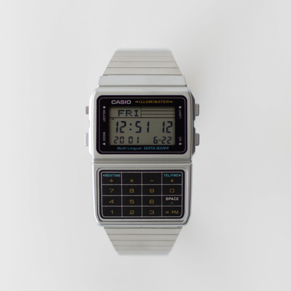 CASIO - Databank - Silver