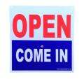 プラスチックサインボード/OPEN COME IN