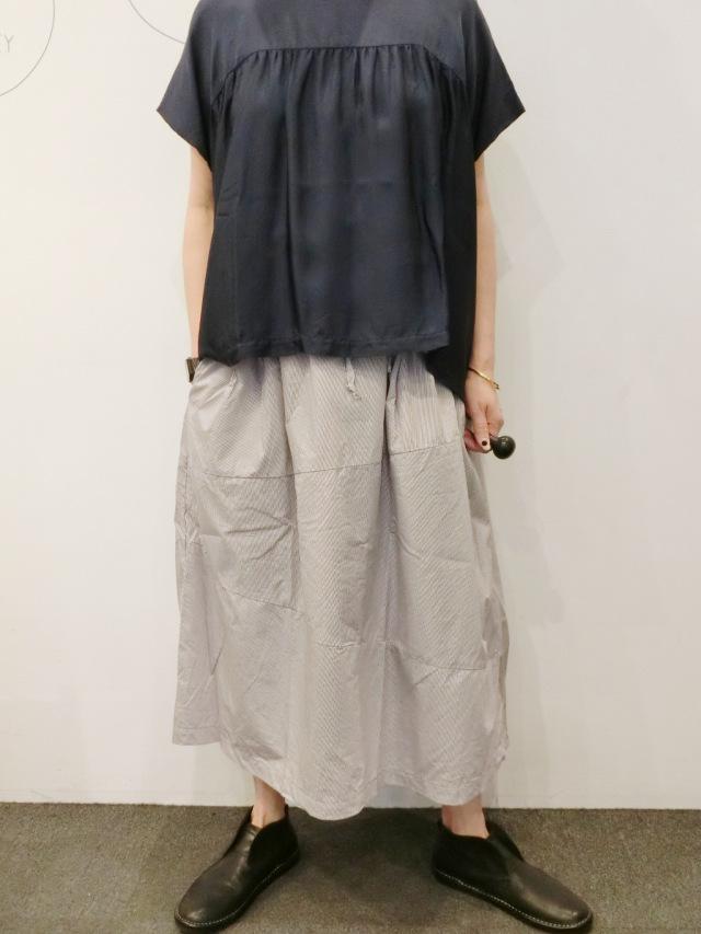 GALLEGO DESPORTES:ストライプスカート