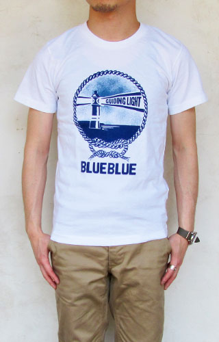 BLUE BLUE NT190 GUIDING LIGHT Tシャツ メンズ