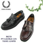 �ե�åɥڥ Fred Perry ���å���?�ե��� ���塼�� ���硼�����å��� ����� George Cox 16SS �ܳץ쥶�� ��� �� ��FL��