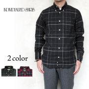 インディビジュアライズドシャツ スタンダードフィット 1921 チェック ボタンダウン シャツ  メンズ  Individualized Shirts STANDARD FIT CHECK コットンネル生地 〔FL〕