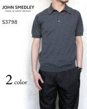 ジョンスメドレー ニット ポロシャツ メンズ 日本別注モデル JOHNS MEDLEY S3798 無地〔FL〕