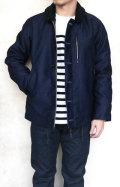 BLUEBLUE JK1168 インディゴ ジャーマンクロス デッキジャケット