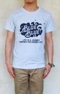 BLUE BLUE NT190 SPRAY Tシャツ メンズ