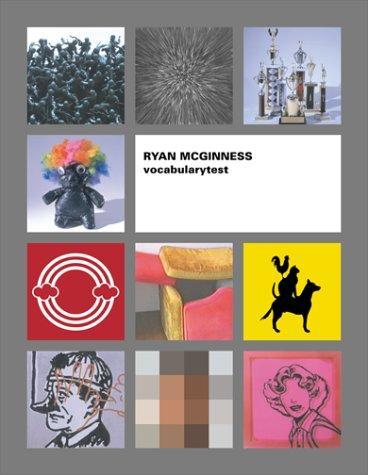 【古本】ライアン・マクギネス作品集 : RYAN McGINNESS : VOCABULARYTEST