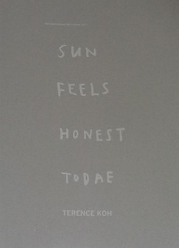 【古本】THE INTERNATIONAL #8 : SUMMER 2011 SUN FEELS HONEST TODAE BY TERENCE KOH