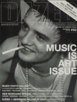DAZED &amp; CONFUSED JAPAN #62 MUSIC IS ART ISSUE WITH HEDI SLIMANE 2007
