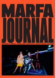 MARFA JOURNAL #1
