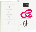 ヤン・チヒョルト作品集 : JAN TSCHICHOLD: A BRIEF HISTORY OF THE AMPERSAND + ET & AMPERSANDS (PACK)