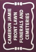 キャメロン・ジェイミー写真集 : CAMERON JAMIE : FRONT LAWN FUNERALS AND CEMETERIES