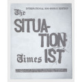 THE SITUATIONIST TIMES : FACSIMILE