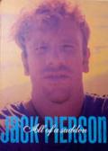 【古本】ジャック・ピアソン写真集 : JACK PIERSON : ALL OF A SUDDEN