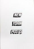 【サイン入】ダン・ボールトン写真集 : DAN BOULTON : NEW YORK POST