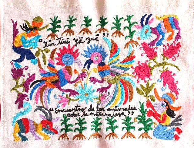 オトミ刺繍,テナンゴ刺繍