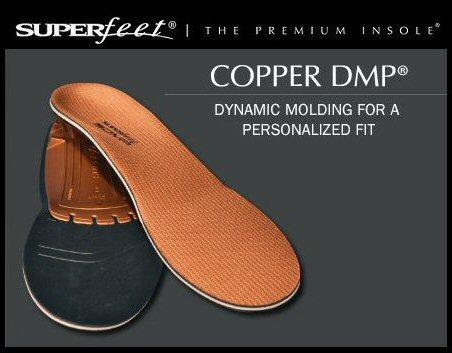 【正規販売店】SUPER FEET 【スーパーフィート】 COPPER DMP インソール トリムフィット カッパー