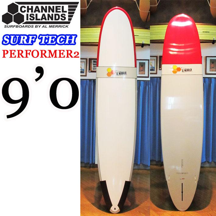 [即出荷可能] 2017 CHANNEL ISLAND チャンネルアイランド サーフボード SURF TECH サーフテック PERFORMER2 パフォーマー [9'10] ロングボード