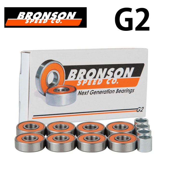 BRONSON 【ブロンソン】BEARING スケートボード ベアリング G2 sk8