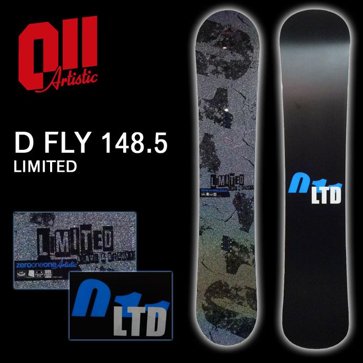 16-17 011 artistic 011アーティスティック スノーボード D FLY 148.5 LIMITED ディーフライ リミテッド キャンバー グラトリ 板