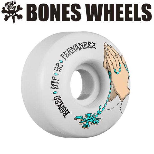BONES WEELS ボーンズ ウィール FERNANDEZ PRAYER 52mm [STF] スケートボードウィール 正規品