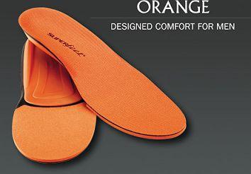 【正規販売店】SUPER FEET 【スーパーフィート】 ORANGE オレンジ インソール