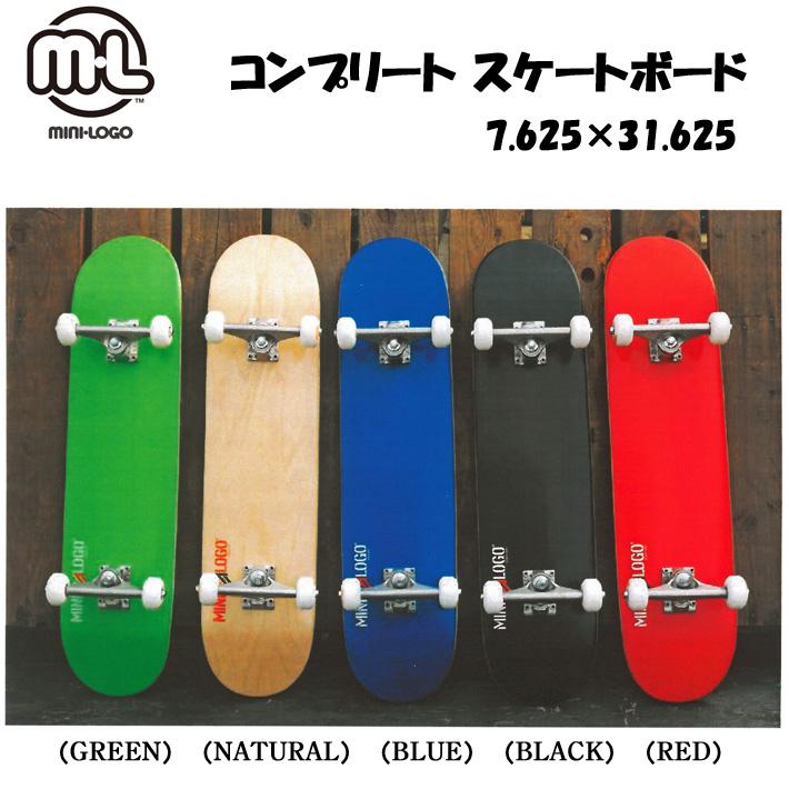 MINI LOGO ミニロゴ SKATEBOARD コンプリートスケートボード 7.625×31.625 スケボー