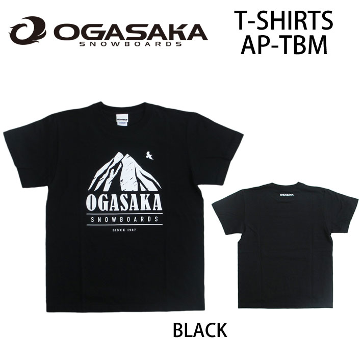 2016 OGASAKA Sowboard オガサカスノーボード 半袖 Tシャツ AP-TBM