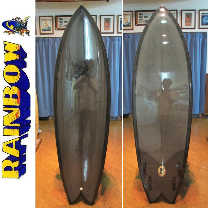 【送料無料】RAINBOW レインボー サーフボード QUAN 6'0 Whale Grey クァン GREENROOM グリーンルーム トランジッションボード