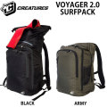 CREATURES クリエイチャー DRY LITE VOYAGER 2.0 SURFPACK ボイジャー サーフパック