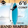 2017 SOFTECH ソフテック サーフボード HAND SHAPED COMP 6'6 ハンドシェイプド ショートボード ソフトボード