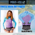 MAKA-HOU �ޥ��ۡ� ��å��奬���� ��ǥ����� ��25W02-61S�� Turtle Neck with Hot Pants �����ȥ�ͥå����η��ۥåȥѥ��