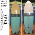 HYNSON ヒンソン サーフボード Black Knight Quad 6'6 ブラックナイトクアッド フィッシュボード