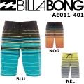 [現品限り特別価格] Billabong ビラボン メンズサーフトランクス AE011-401 サーフィン・サーフパンツ
