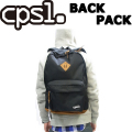 cpsl. 【カプセル】 BACK PACK 【バックパック】 ブラック リュック コーデュラ 耐久