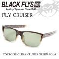 2016 BLACK FLYS ブラックフライ サングラス FLY CRUISER フライクルーザー[TORTOISE CLR GR/G15 GRN POL] 偏光レンズ[BF-1027-29350]