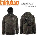 16-17 THIRTYTWO / �����ƥ����ġ� 32 HOODRATS RAT CAMO COACH jacket ���������㥱�å� ��� ���Ρ��ܡ��ɥ����� ���ѥ��